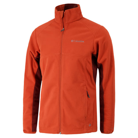 COLUMBIA MEN'S STRATA FLEECE JACKET SANGUIN