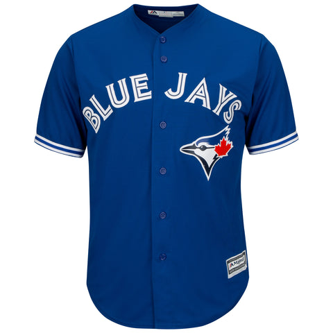MAJESTIC MEN'S TORONTO BLUE JAYS COOLBASE REPLICA ALTERNATE JERSEY ROYAL