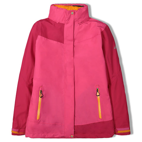 MCKINLEY GIRLS ARACRUZ 3 IN 1 JACKET PINK