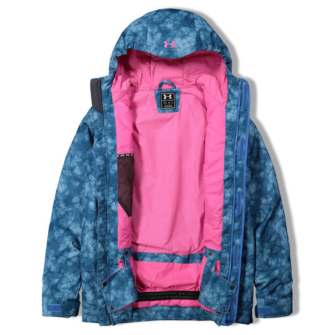 UNDER ARMOUR GIRLS COLD GEAR INSULATED BRITTON JACKET WATER