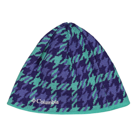 COLUMBIA GIRLS URBAN REVERSIBLE BEANIE PURPLE-OCEAN