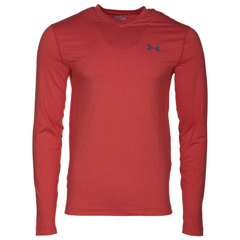 UNDER ARMOUR MEN'S COLDGEAR INFRARED LONG SLEEVE TOP VOLCANO