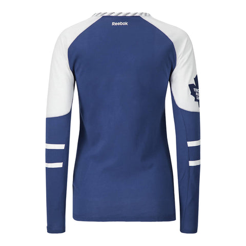 REEBOK WOMEN'S TORONTO MAPLE LEAFS LONG SLEEVE HOCKEY TOP