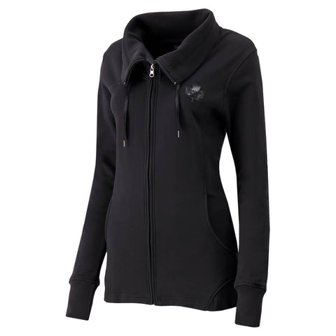 REEBOK WOMEN'S TORONTO MAPLE LEAFS FULL ZIP FRENCH TERRY JACKET