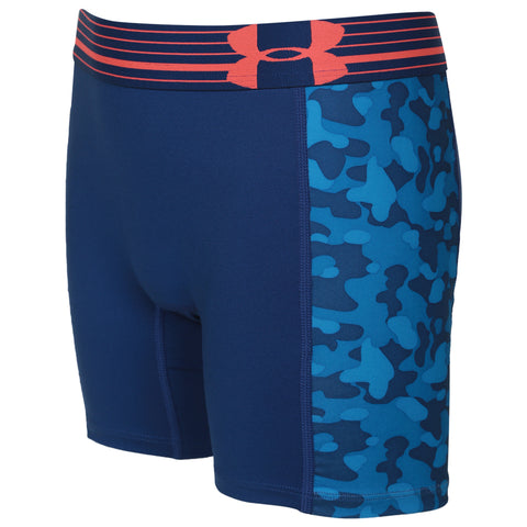 UNDER ARMOUR GIR'S ALPHA 5- PRINTED SHORT