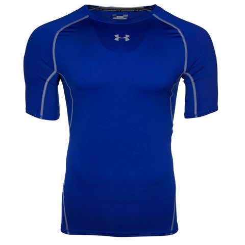 UNDER ARMOUR MEN'S HEAT GEAR ARMOUR COMPRESSION SHORT SLEEVE TOP ROYAL