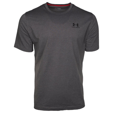 UNDER ARMOUR MEN'S CC LEFT CHEST LOCK UP TOP CARBON