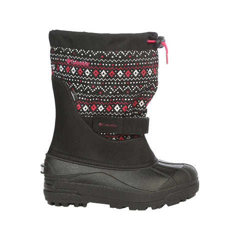 COLUMBIA GIRLS POWDERBUG PLUS II PR WINTER BOOT
