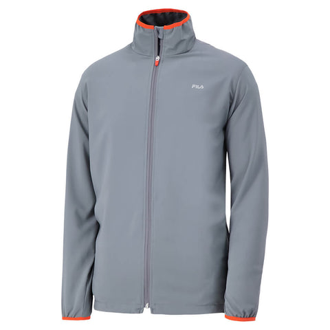 FILA MEN'S RECOIL PERFORMANCE JACKET DARK GREY