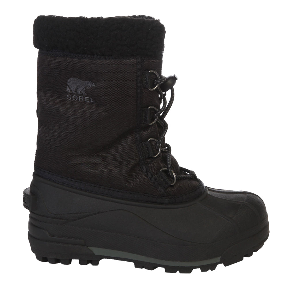 4cd0d11faeed SOREL BOYS CUMBERLAND WINTER BOOT BLACK – National Sports