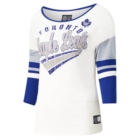 GIII 4HER WOMEN'S TORONTO MAPLE LEAFS PLAYMAKER TOP