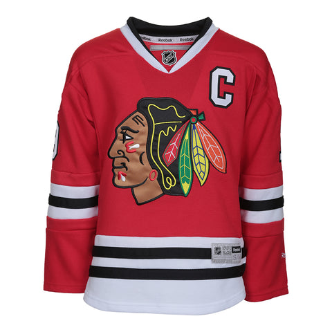 REEBOK YOUTH CHICAGO BLACKHAWKS TOEWS HOME JERSEY