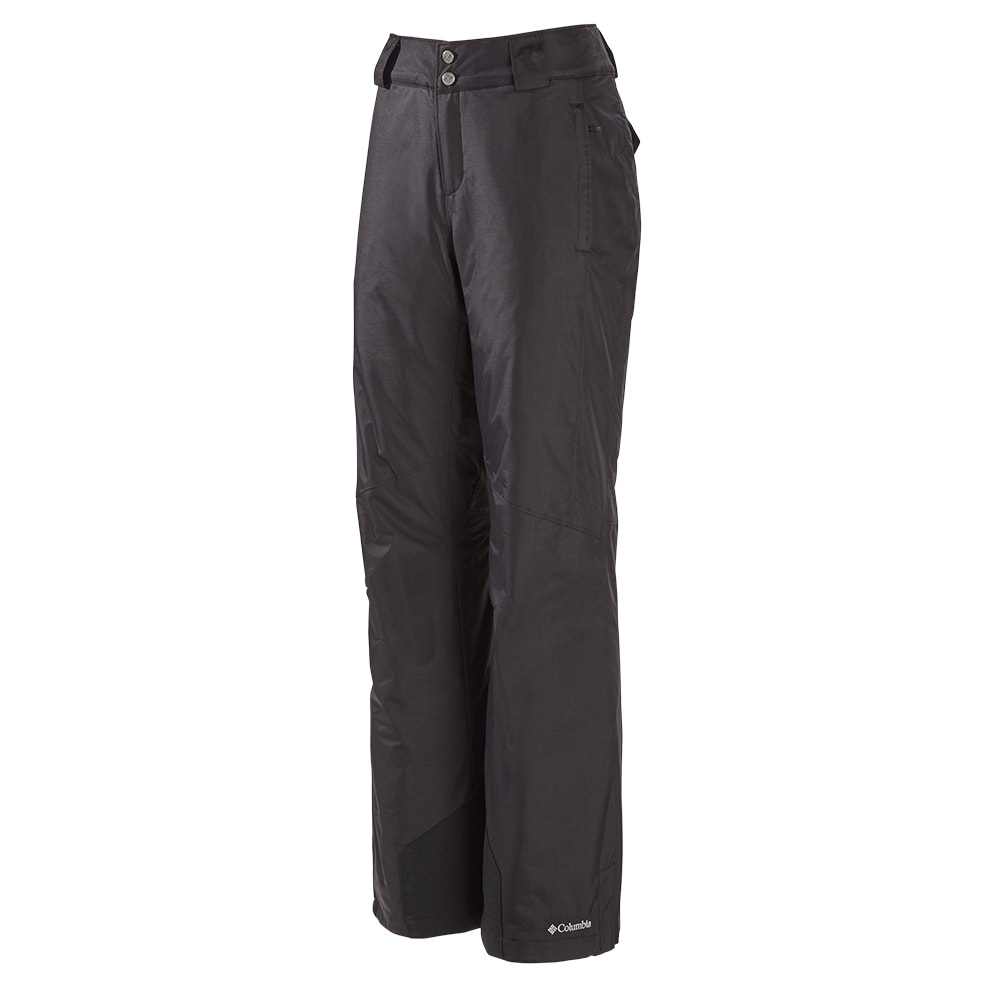 6006957a1588b COLUMBIA WOMEN S BUGABOO OMNI HEAT INSULATED SNOWPANTS BLACK ...