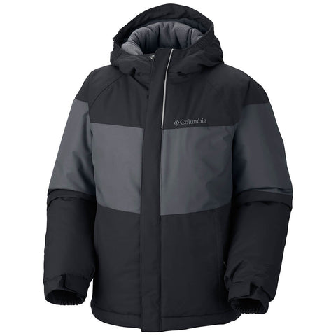COLUMBIA YOUTH ALPINE ACTION OMNI - HEAT JACKET BLACK 2016