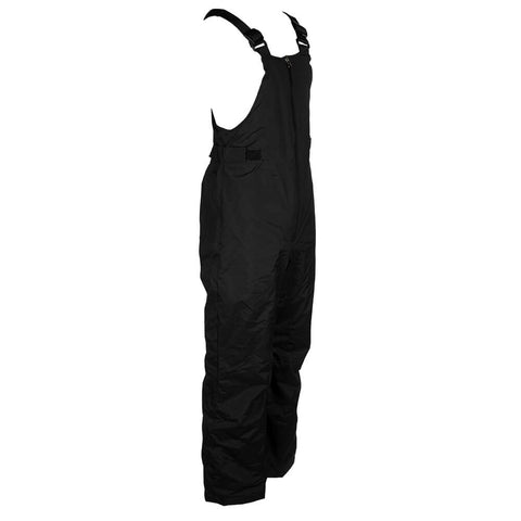 COLUMBIA YOUTH SNOWSLOPE II BIB INSULATED PANT BLACK