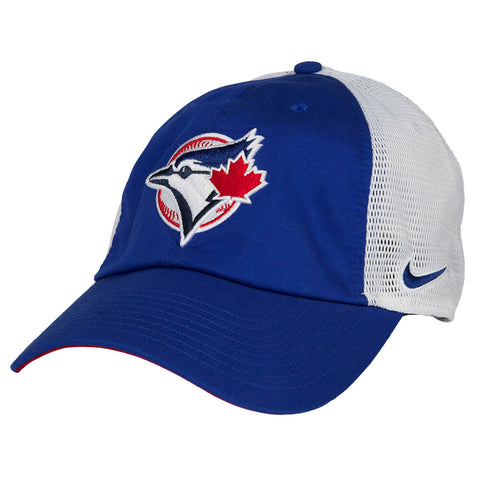 NIKE MEN'S TORONTO BLUE JAYS H86 DRYFIT FABRIC MIX CAP