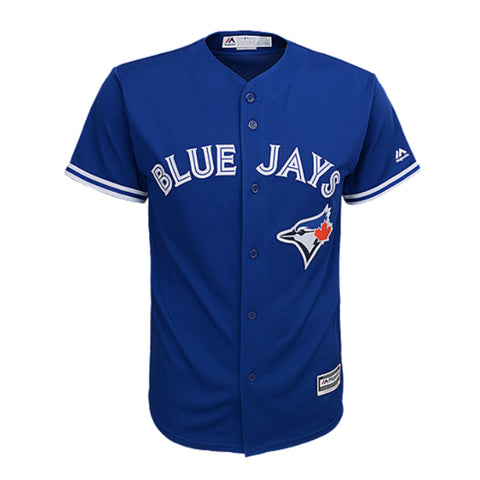 MAJESTIC 4-7 TORONTO BLUE JAYS ALTERNATE JERSEY DONALDSON ROYAL