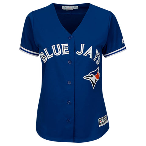 MAJESTIC WOMEN'S TORONTO BLUE JAYS ALTERNATE TULOWITZKI JERSEY ROYAL