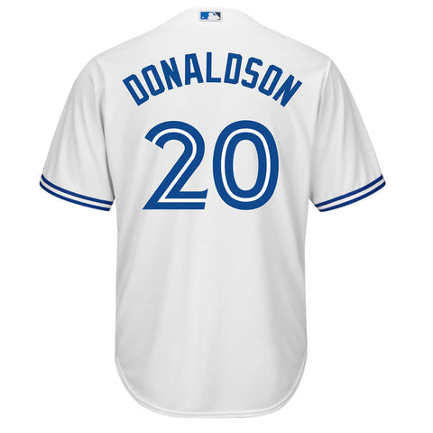 MAJESTIC YOUTH TORONTO BLUE JAYS HOME DONALDSON JERSEY WHITE