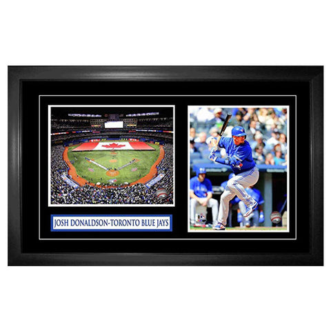 FRAMEWORTH DOUBLE FRAMED 8X10 DONALDSON