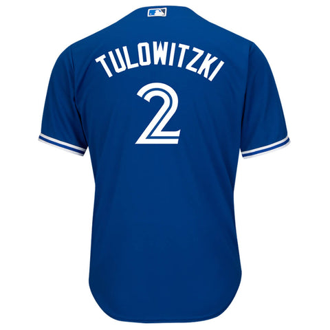 MAJESTIC 4-7 TORONTO BLUE JAYS ALTERNATE TULOWITZKI JERSEY ROYAL