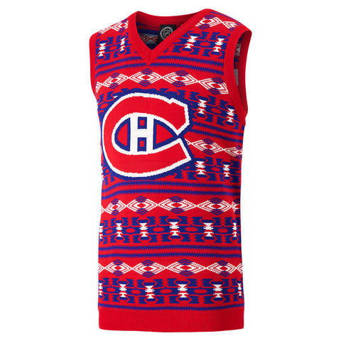 KLEW MEN'S MONTREAL CANADIENS VEST