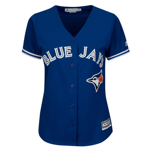 MAJESTIC WOMEN'S TORONTO BLUE JAYS DONALDSON ALTERNATE JERSEY ROYAL