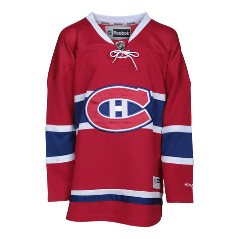 REEBOK YOUTH MONTREAL CANADIENS HOME JERSEY