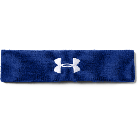 UNDER ARMOUR PERF HEADBAND ROY/WHT