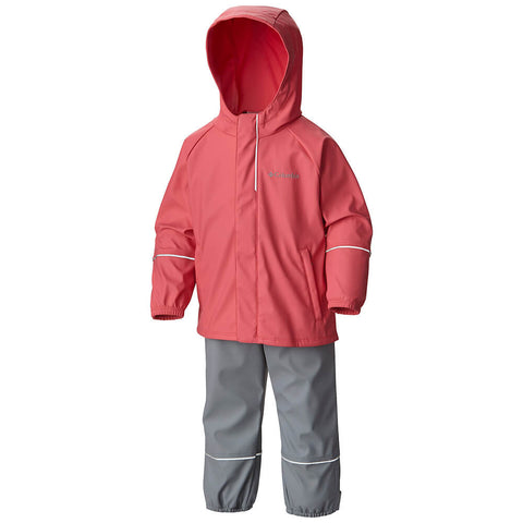 COLUMBIA TYKE WET REFLECT WATERPROOF RAIN SET GERANIUM