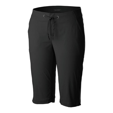 COLUMBIA WOMEN'S ANYTIME OUTDOOR LONG SHORT BLACK
