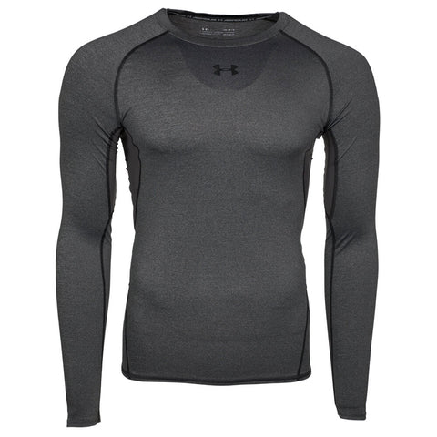 UNDER ARMOUR MEN'S HEATGEAR ARMOUR COMPRESSION LONG SLEEVE TOP CARBON