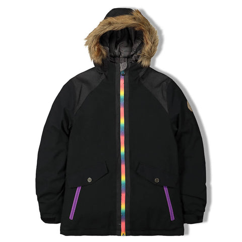 FIREFLY GIRLS DEE DEE INSULATED JACKET BLACK