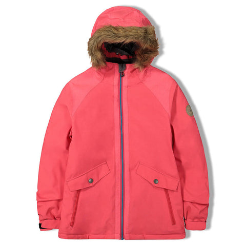 FIREFLY GIRLS DEE DEE INSULATED JACKET GERANIUM