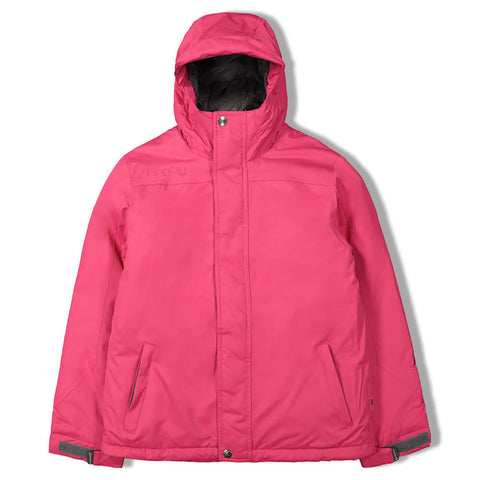 FIREFLY GIRLS TEXT INSULATED JACKET PINK