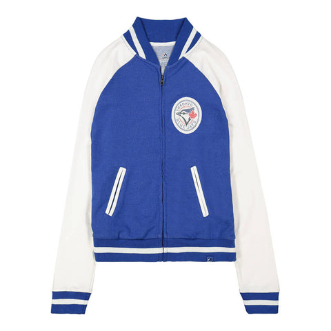 MAJESTIC WOMEN'S TORONTO BLUE JAYS ATHLETIC GREATNESS JACKET