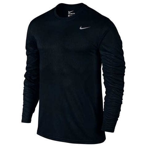 NIKE MEN'S LEGEND 2.0 LONG SLEEVE TOP BLACK