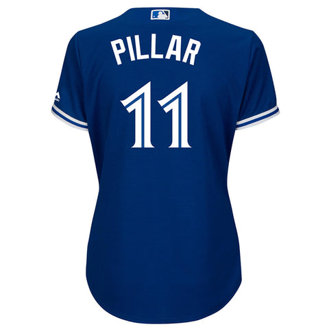 MAJESTIC WOMEN'S TORONTO BLUE JAYS ALTERNATE PILLAR JERSEY ROYAL