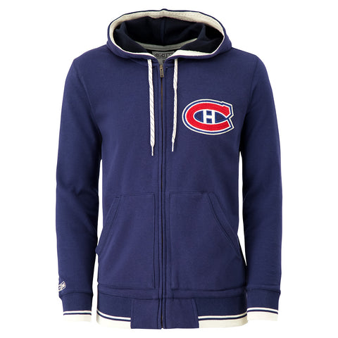 CCM MEN'S MONTREAL CANADIENS FASHION FLEECE TOP