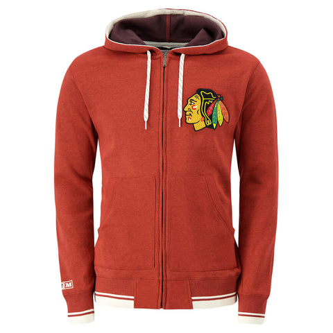 CCM MEN'S CHICAGO BLACKHAWKS FASHION FLEECE TOP
