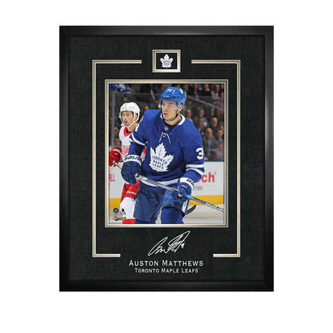 FRAMEWORTH TORONTO MAPLE LEAFS 16X20 REPLICA SIGNATURE FRAME PLAQUE MATTHEWS