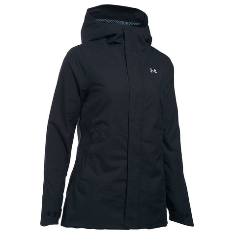 UNDER ARMOUR WOMEN'S CGI POWERLINE JACKET BLACK