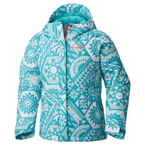 COLUMBIA GIRLS HORIZON RIDE WATERPROOF INSULATED JACKET SPRAY 2016