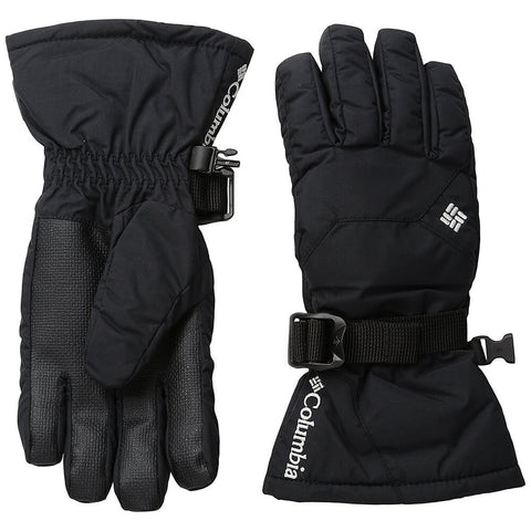 COLUMBIA YOUTH WHIRLIBIRD OMNI HEAT GLOVE BLACK