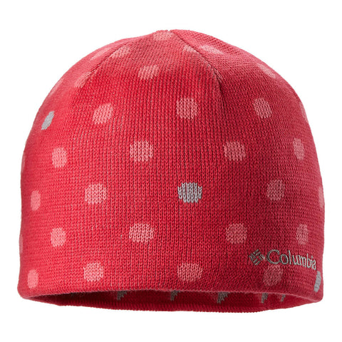 COLUMBIA YOUTH REVERSIBLE URBANIZATION BEANIE PINK