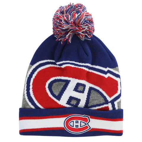 GERTEX YOUTH MONTREAL CANADIENS FAN POM KNIT TOQUE