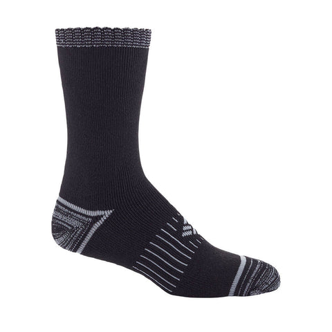 COLUMBIA WOMEN'S 2 PACK SPACEDYE CREW SOCKS 9-11 BLACK