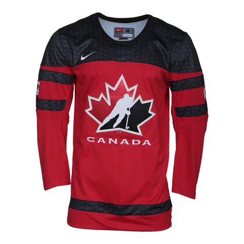 NIKE MEN'S 2016 TEAM CANADA JERSEY RED