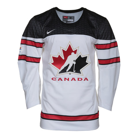 NIKE MEN'S 2016 TEAM CANADA JERSEY WHITE