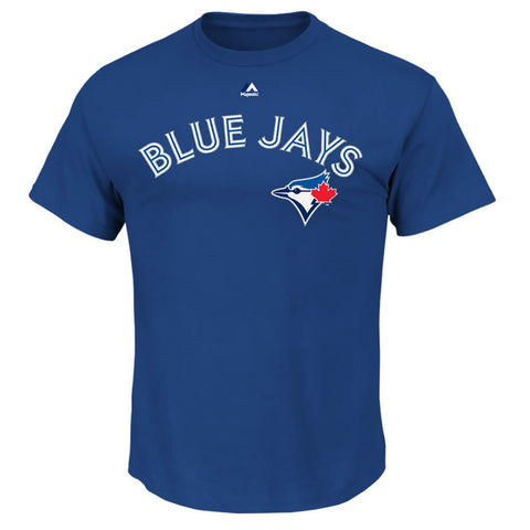 MAJESTIC 4-7 TORONTO BLUE JAYS STROMAN TOP BLUE